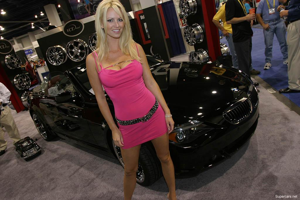 Women S Headlights : Cars and gals of sema