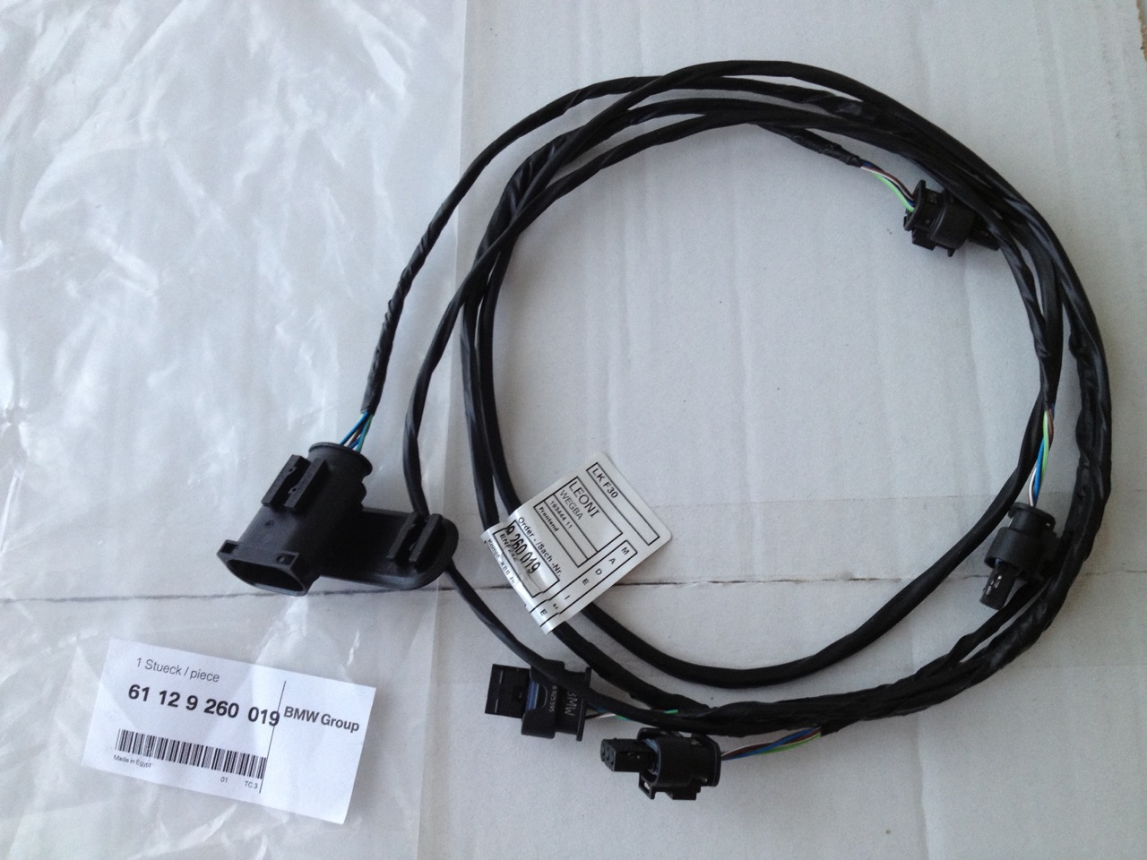 Front Park Distance Control Pdc Retrofit Dyi Bmw Wiring Harness Repair Kit Name Img 1549 Views 3204 Size 2429 Kb