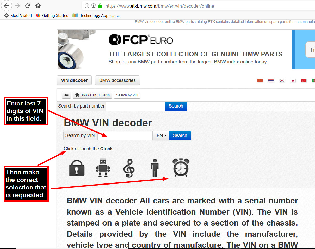bmw vin-decoder (specs of bmw cars since 1928) - page 4