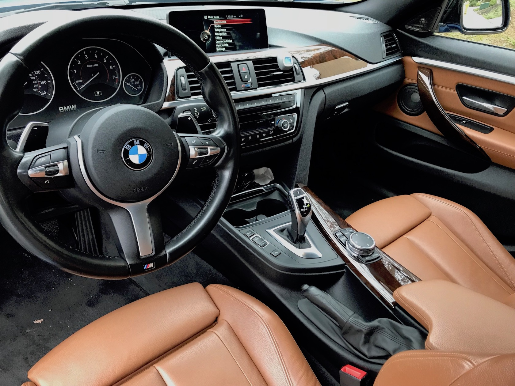 Saddle Brown With Cf Trims With Pitcures Bmw 3 Series And 4 Series Forum F30 F32 F30post