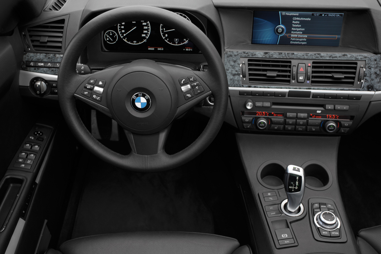 Bmw 39 s second generation idrive for Bmw serie 6 interieur
