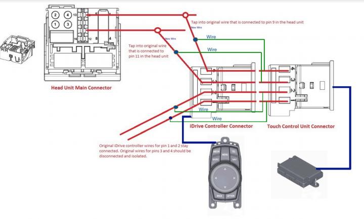 idrive controller issues - retrofit - BMW 3-Series and 4-Series Forum (F30  / F32) | F30POST | Bmw Idrive Wiring Diagram |  | Bimmerpost
