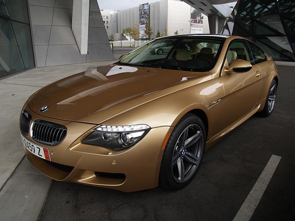Bmw M6 Ontario Gold Individual