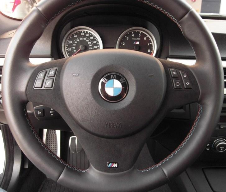 Bmw Z4 M Steering Wheel: The New Alcantara Steering Wheel
