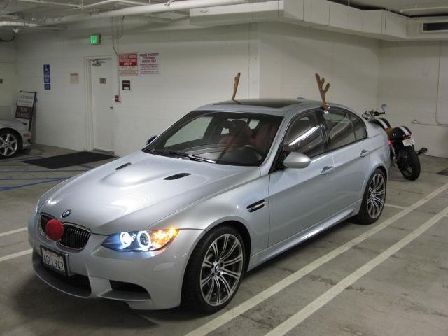 Reindeer Antlers Car Get Up Car Costume