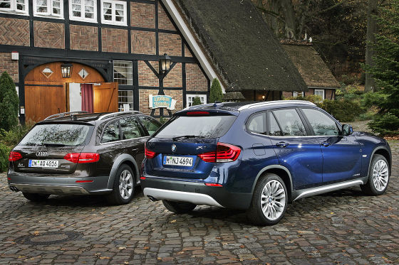 bmw x1 and x3 side by autos post. Black Bedroom Furniture Sets. Home Design Ideas