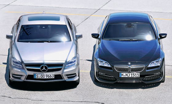 2012 Bmw 6 Series Gran Coupe Vs 2012 Mercedes Benz Cls