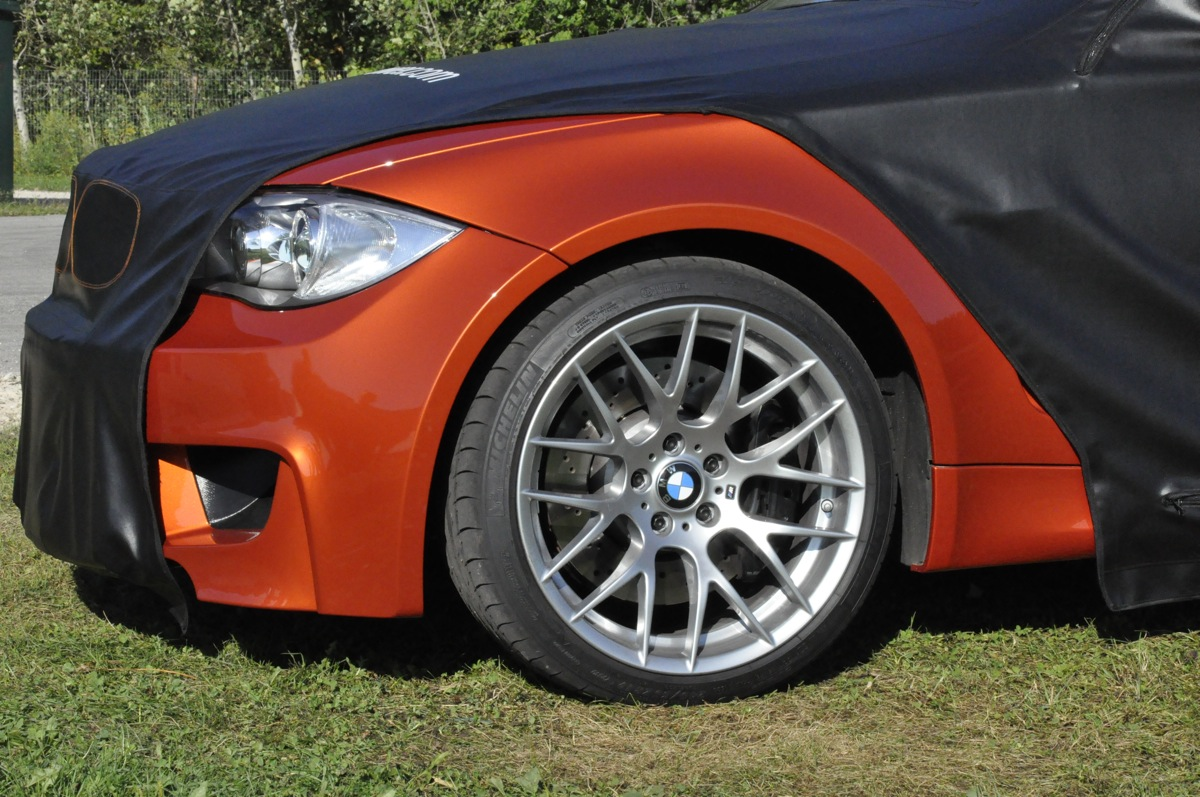 Bmw 1m Coupe Partially Unveiled At Oktoberfest Info Video Amp Photos