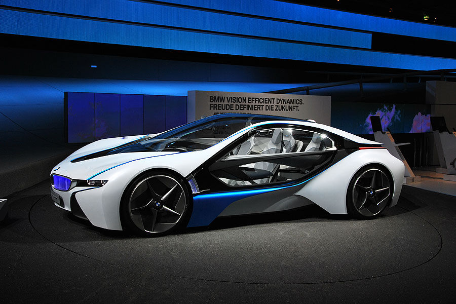 BMW Vision Efficient Dynamics (VED) coming with BMW Concept Active 5 ...