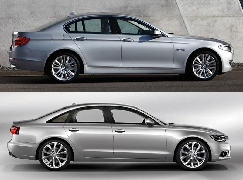 Audi Virginia Beach >> Comparison: New A6 vs New 5 series