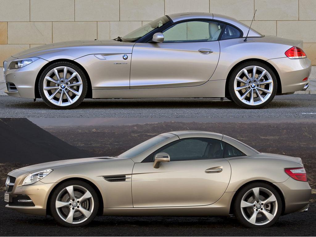 Comparison New Mercedes Slk Vs Bmw Z4 Page 6