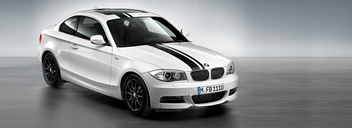 Bmw 128i White. New 1-series Accessories