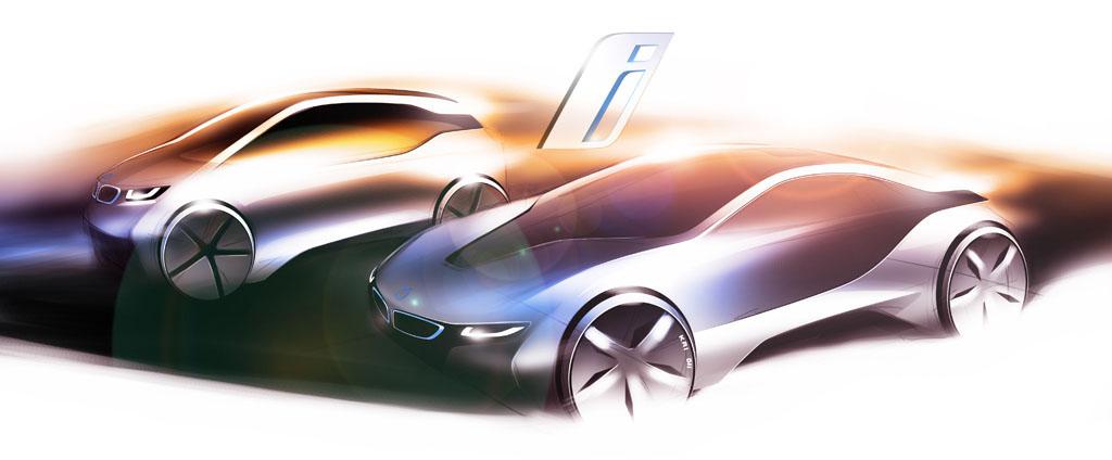 BMW i3 MCV и BMW i8 VED