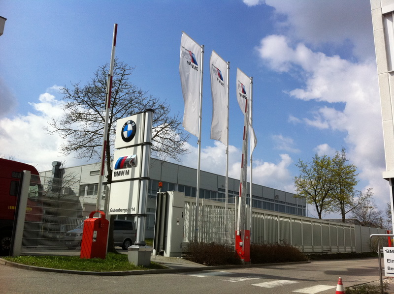 """""""Heading to the BMW M-Studio! BMW Canada and Budds BMW worked with BMW M-Studio to arrange a meeting with the engineering staff who created the 1M. What a treat!"""""""
