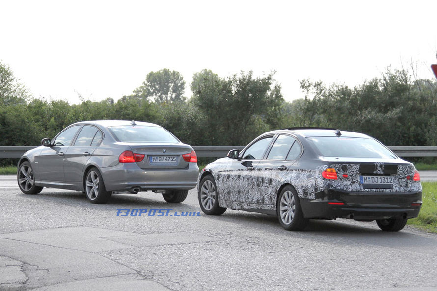 First Real Life Bmw F30 Vs E90 3 Series Comparison View