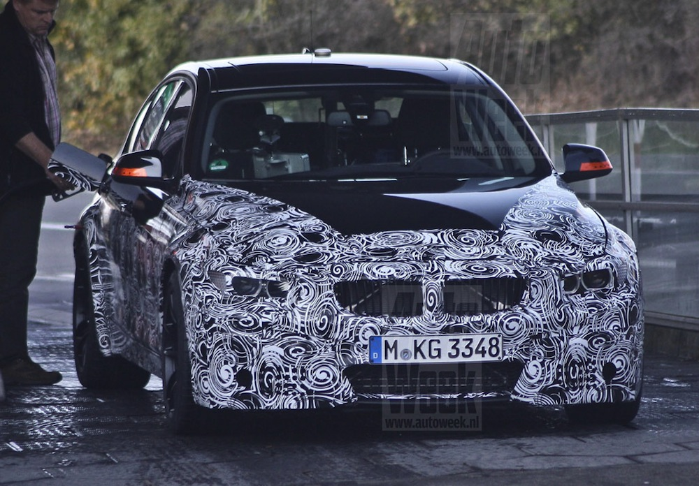 Bmw f80 m3 sedan spotted with manual transmission publicscrutiny Gallery