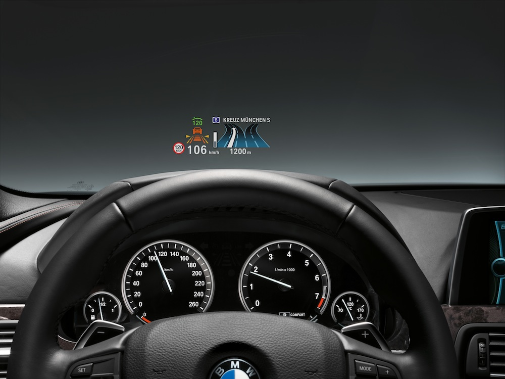 Bmw Head Up Display Precision As Featured In A Fighter Jet