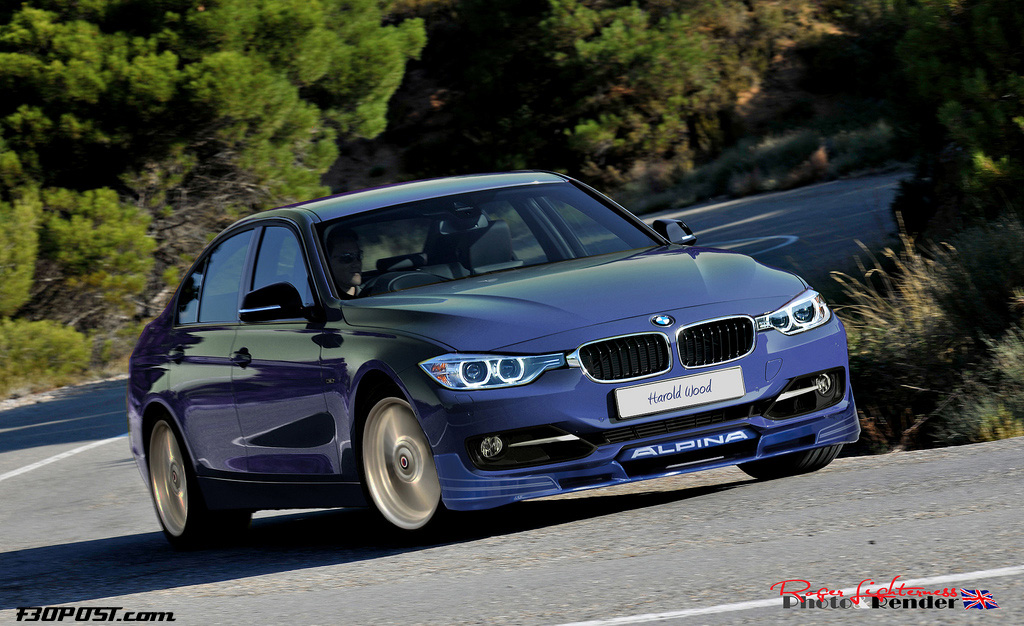 Bmw F30 Alpina D3 Bi Turbo Render