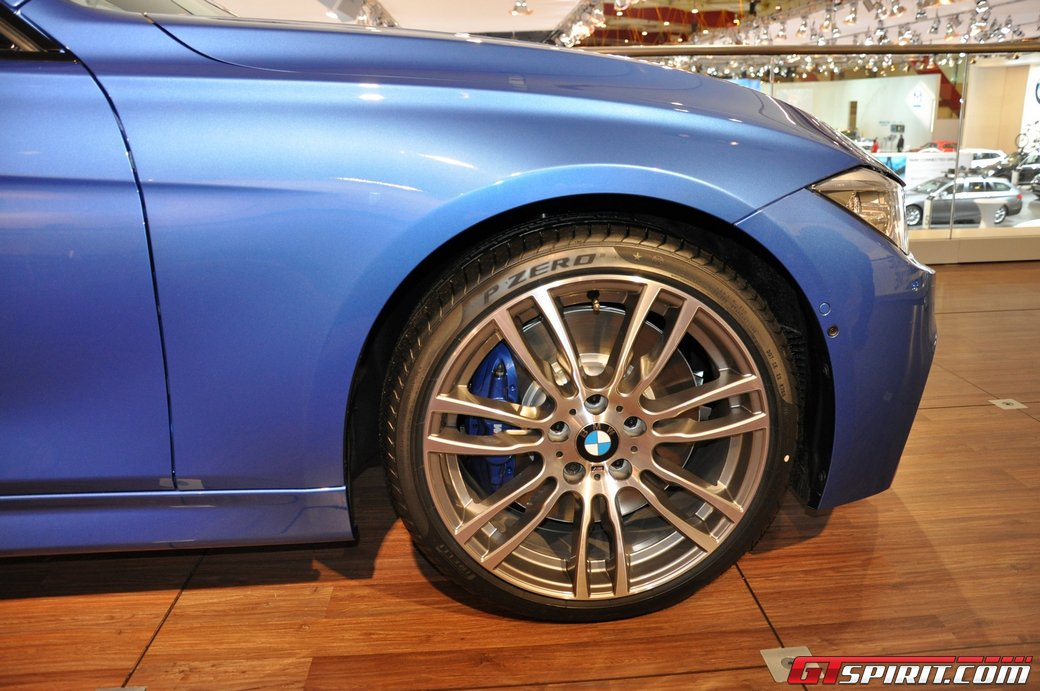 1st Look At F30 M Sport 19 Quot Wheels Blue Brakes M