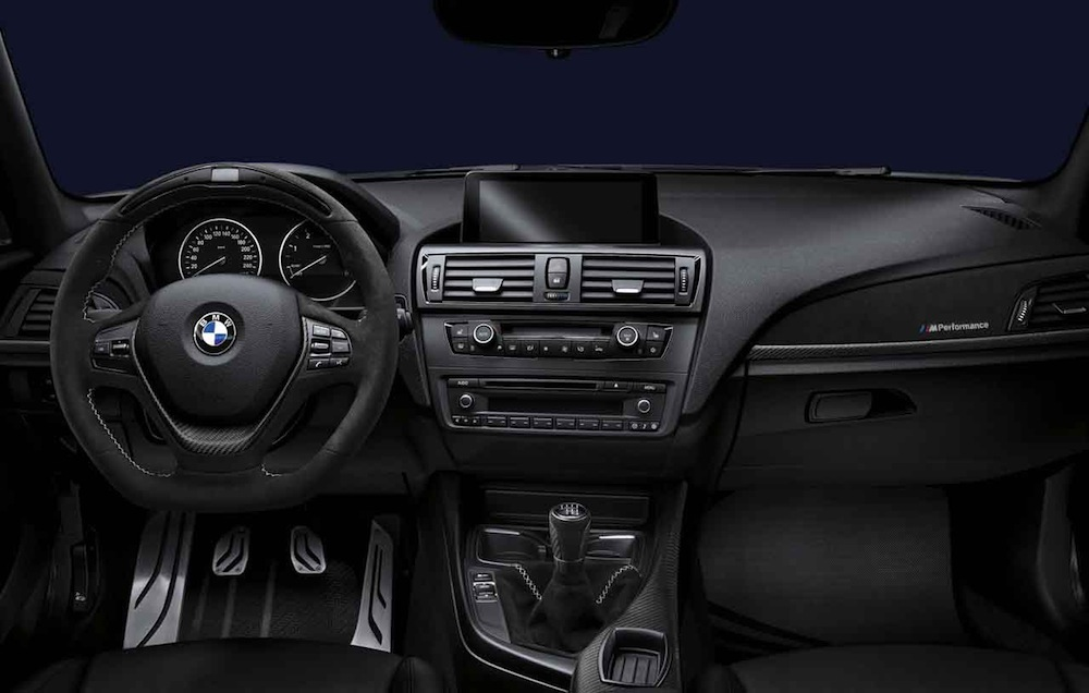 Bmw Announces M Performance Parts For F30 F10 F20 Initially For