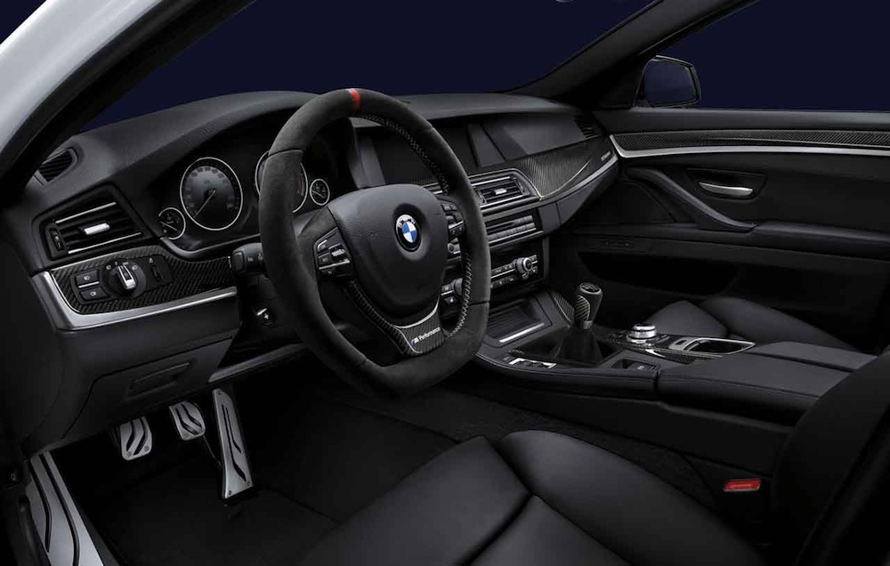 Bmw Announces M Performance Parts For F30 F10 F20 Initially For 2012 Geneva Debut