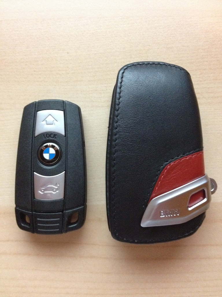 Unboxing F30 Sport Line Key Fob Case
