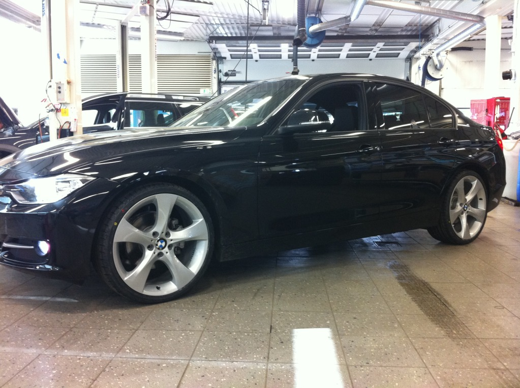 2012 320d With 20 Inch X3 Rims