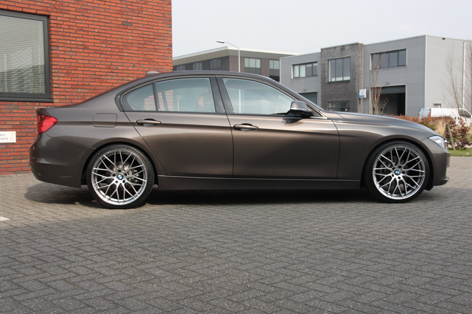 My Car Is Ready To Drive Lowered On F30 Eibach Springs
