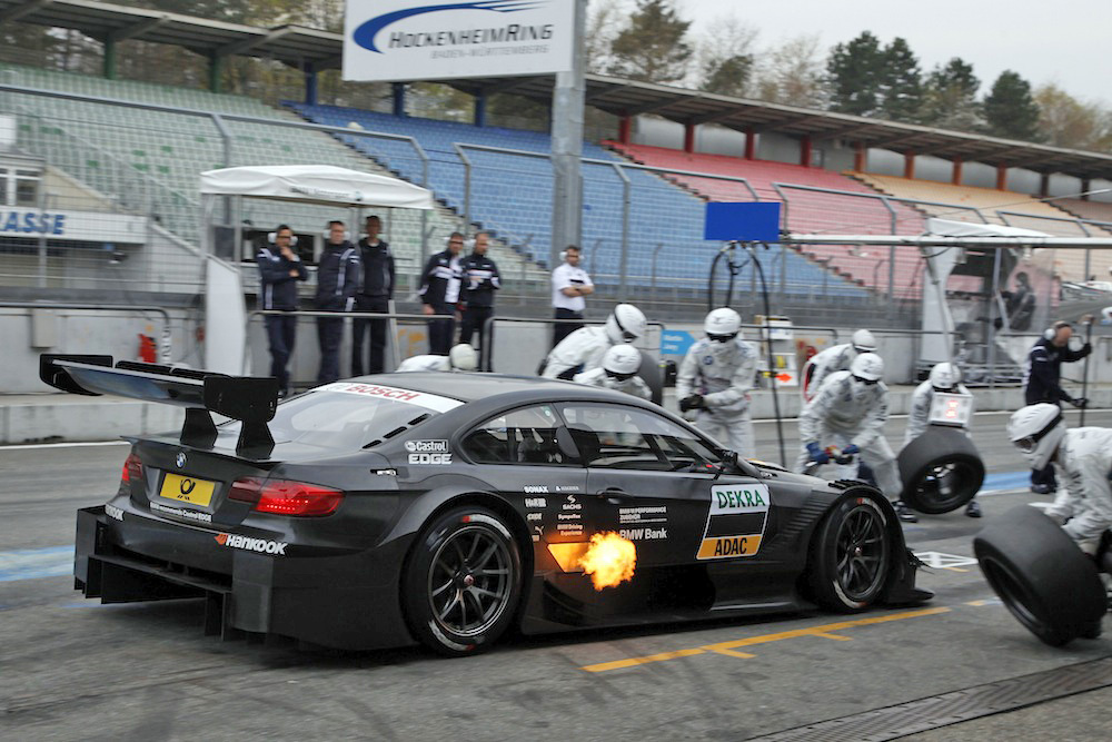 DTM Testing Is Done. Hear and See the BMW M3 DTM in Action