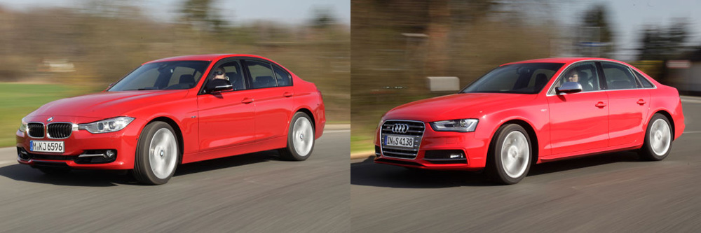 2012 335i (F30) Takes on the Audi S4