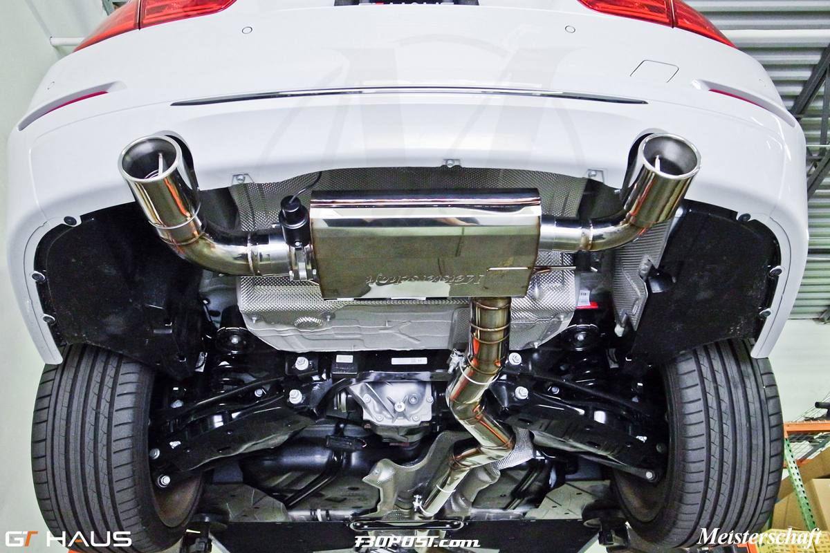 Meisterschaft F I Adjustable Tone Exhaust Systems Released - 2007 bmw 335i performance upgrades