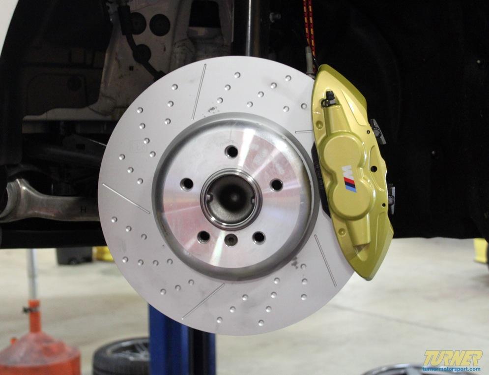 F30 3 Series M Performance Brakes Installed