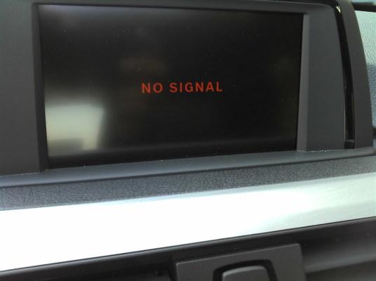 Image result for sat nav no signal