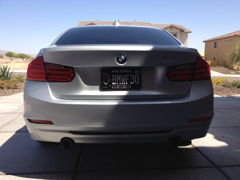 New Vanity Plate For My F30 Sport
