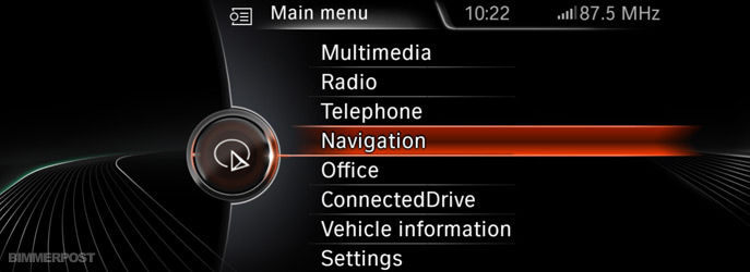 New Idrive Navigation Professional System For F30