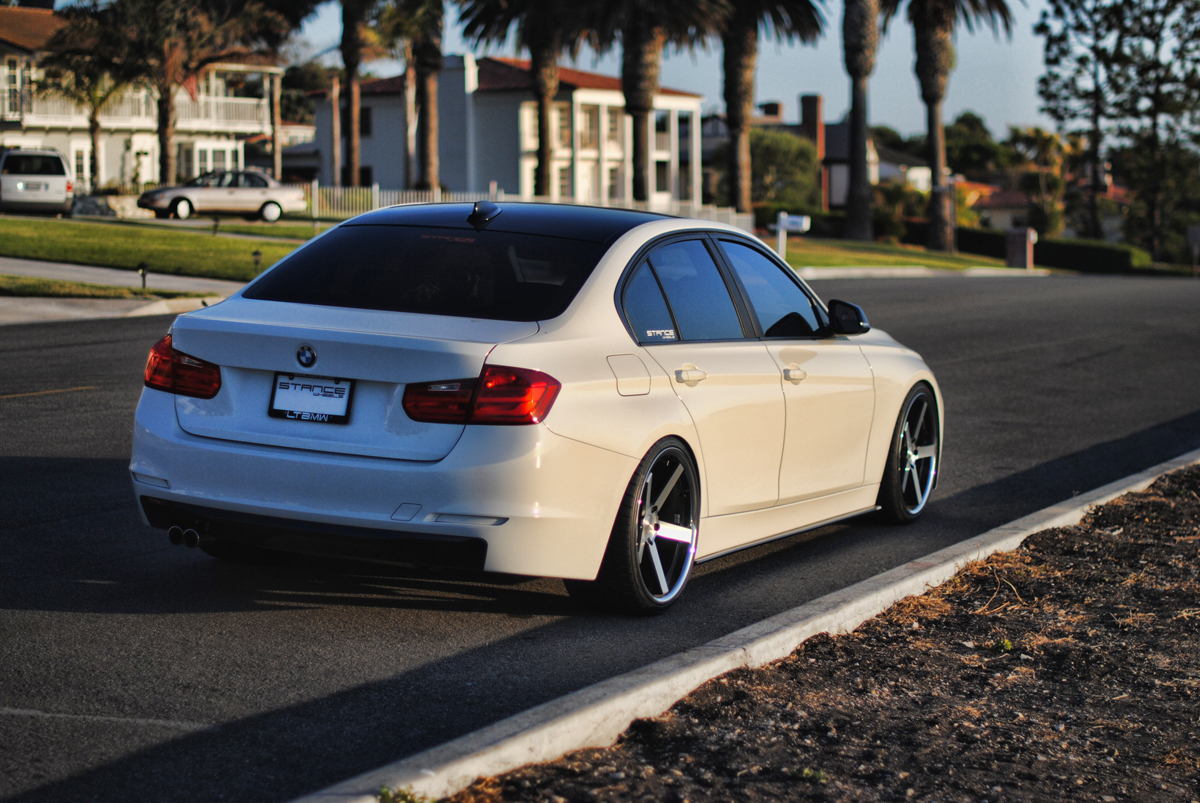 Project F30 Stance Wheels Before And After Ltbmw