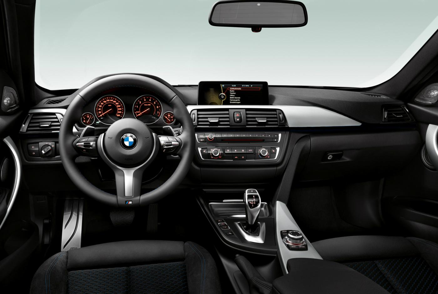 F30 M Sport Brushed Aluminum Or Aluminum Hexagon Trim