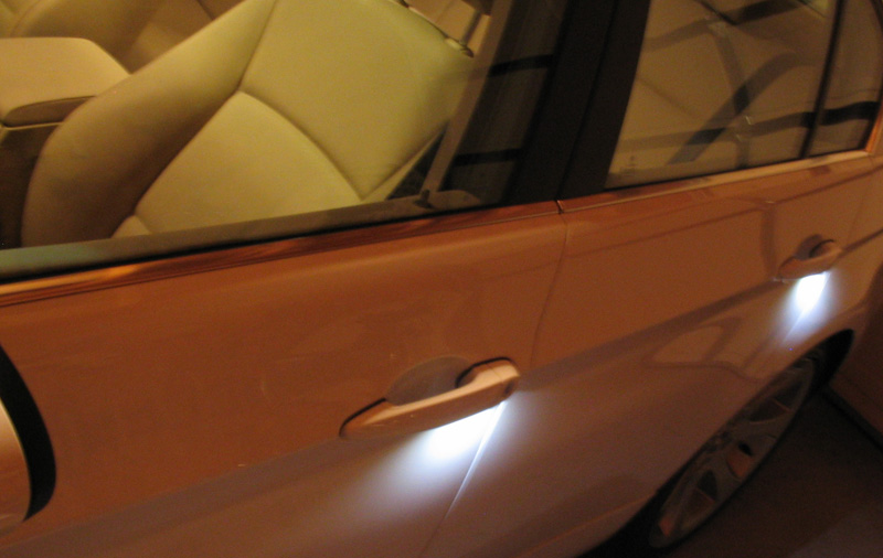 BMW E46 Sedan Exterior and Interior Door Handle LED Complete ...
