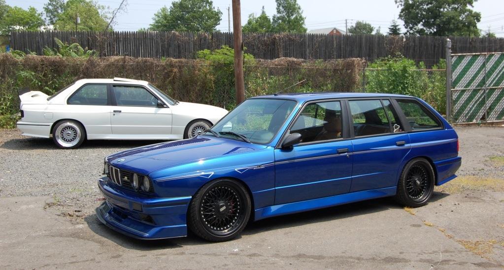 Custom E30 M3 Touring With E36 M3 Engine