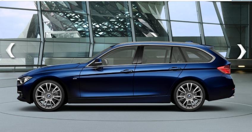 2013 BMW F30/F31 Individual Colors! Citrine Black