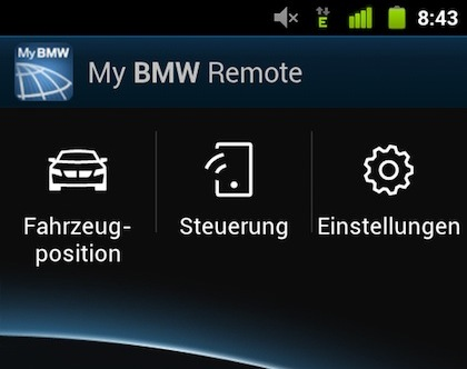 My BMW Remote App Now Available for Android - BMW 3-Series