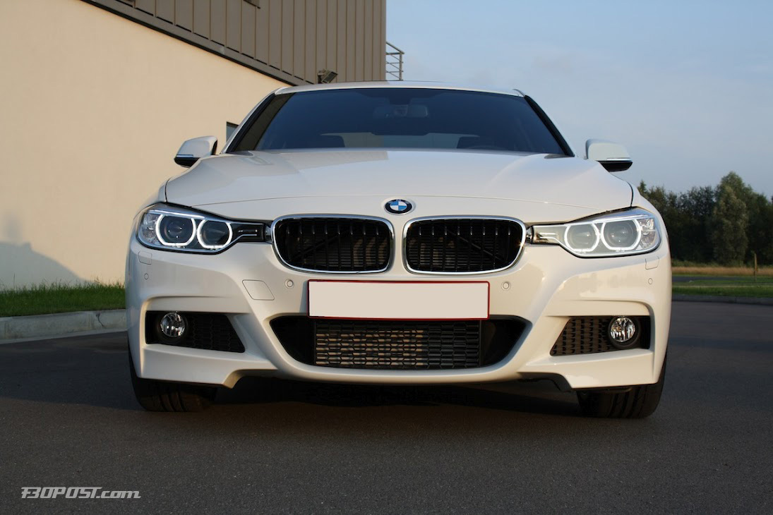 M Sport F30 320d Alpine White Delivered Bmw 3 Series And 4