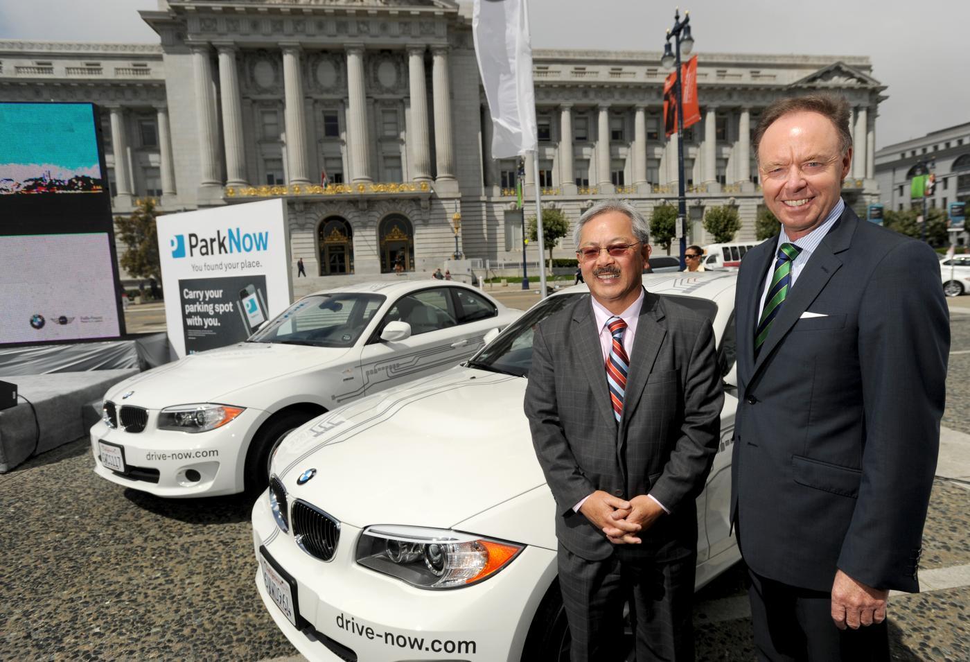 BMW Launches DriveNow Car Sharing Program in San Francisco