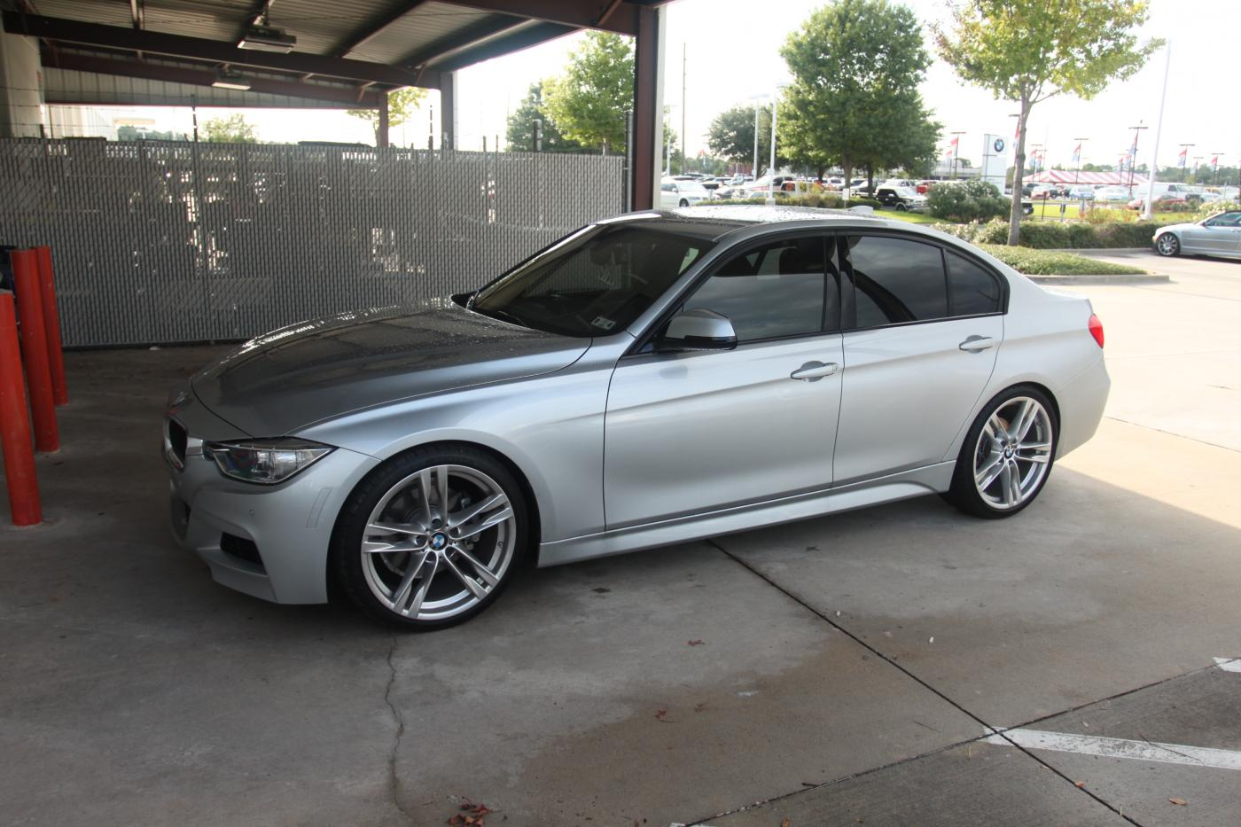 Doing It Wrong Thread The Wrong Stock Wheels On Your F30 But It