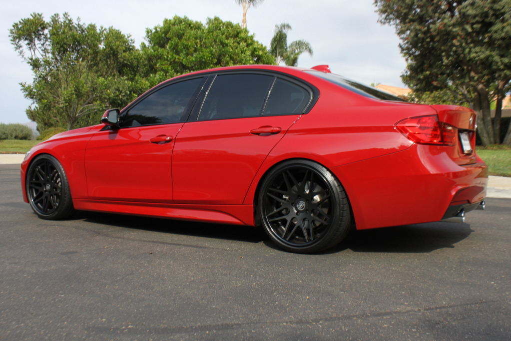 Melbourne Red Bmw F30 335i M Sport 20 Quot Dpe Cs7 Feast