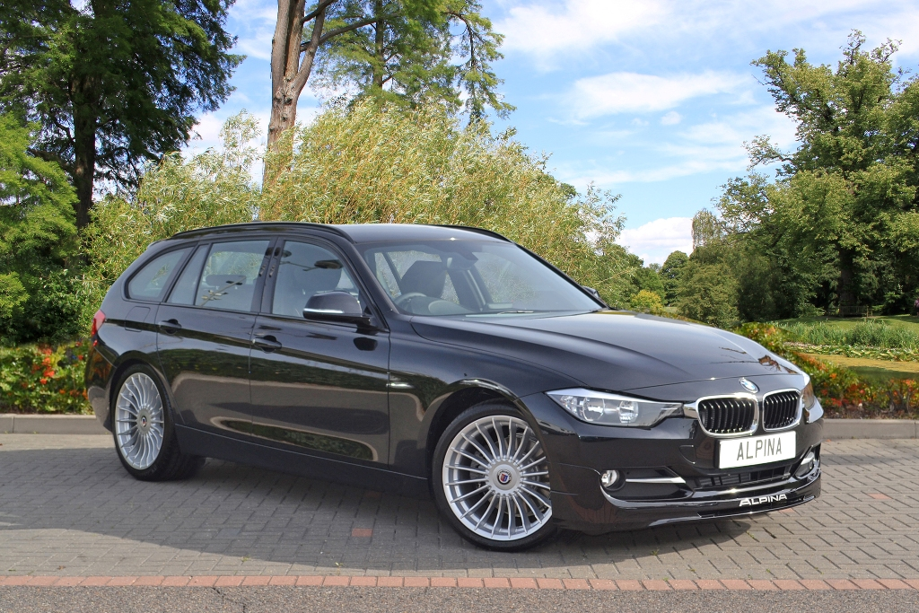 Alpina D3 touring render