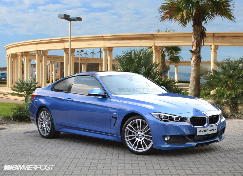 renders bmw 4 series coupe convertible alpina b4 m4 and gran coupe variations. Black Bedroom Furniture Sets. Home Design Ideas
