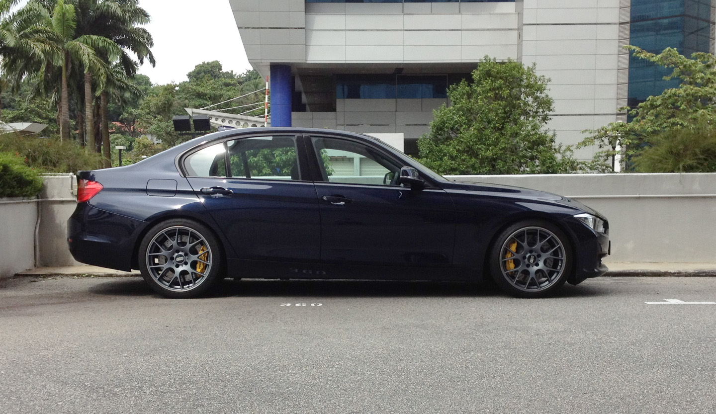 F30 328i Imperial Blue