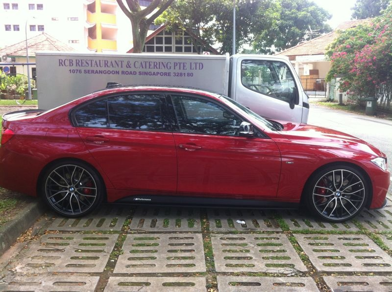 F30 M Performance Melbourne Red