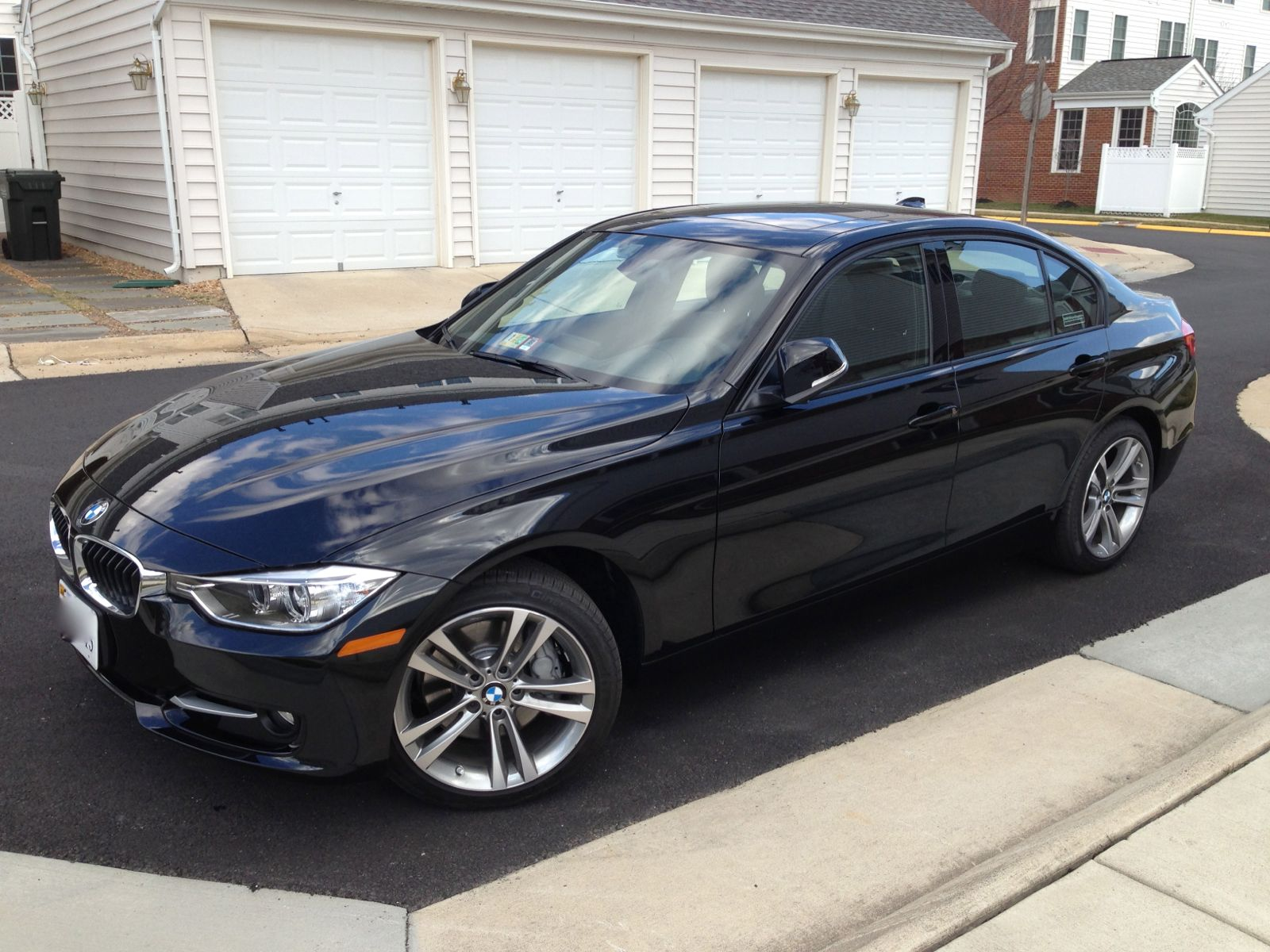 Delivery Black Sapphire 335xi